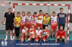 U13-1 Garcons -2018
